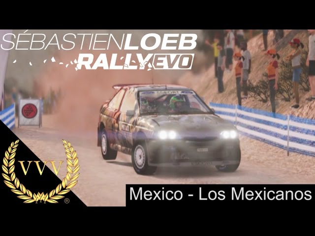 Sebastien Loeb Rally EVO Los Mexicanos PS4 Gameplay