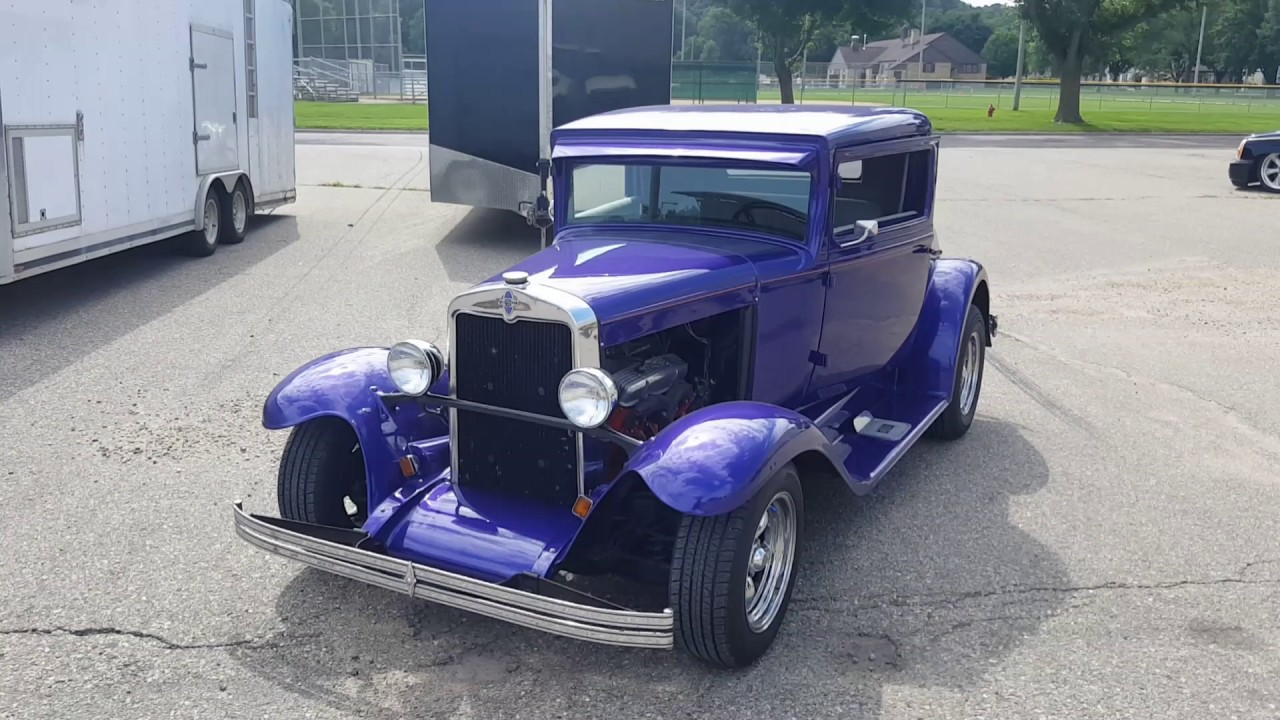 1930 All Steel Chevrolet 3 Window Coupe - YouTube