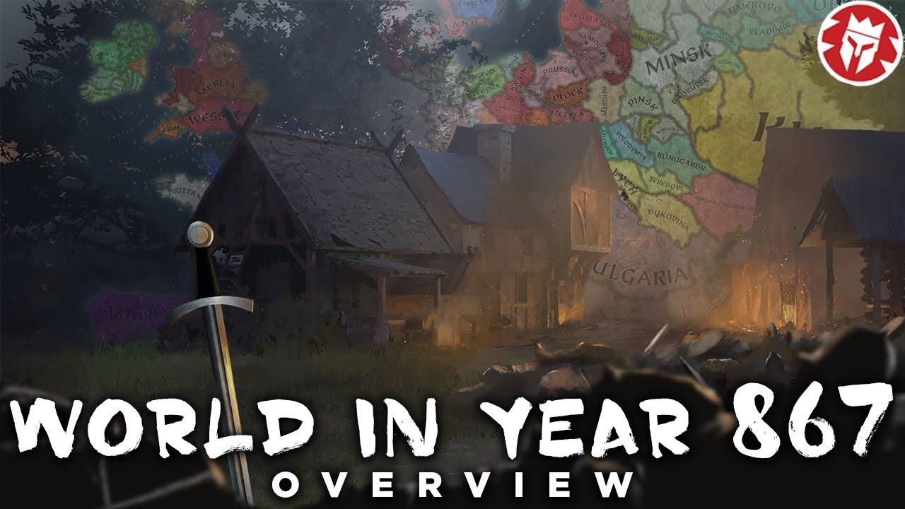 World in Year 867 - Crusader Kings III DOCUMENTARY
