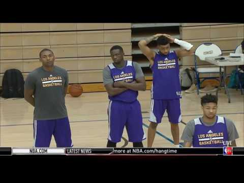 Los Angeles Lakers - Real Training Camp | September 30, 2016 | 2016-17 NBA Season