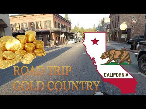 Indian Scout Bobber - Road Trip to California's Gold Country