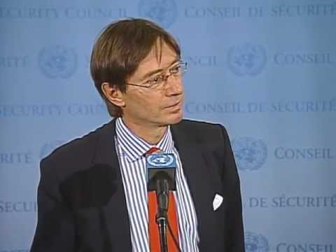 Security Council Stakeout: Ambassador Wittig on Sahel, Mali and the Middle East, 17 September 2012