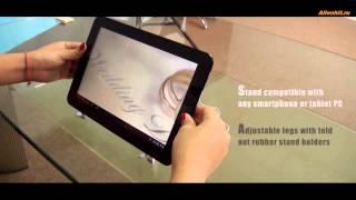 Подставка для планшетников с динамиком и зарядкой