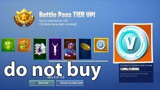 DO NOT BUY THE SEASON 9 BATTLE PASS IN FORTNITE!
