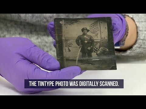 Rare Civil War Tintype Photo Discovered at National Archives