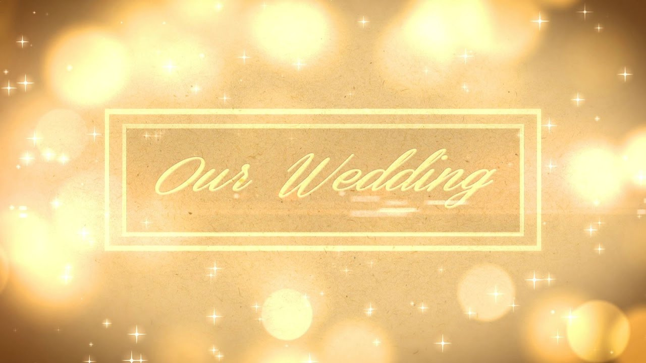Indian Wedding Title Animation Video Background 1080p Dmx Hd Bg 146