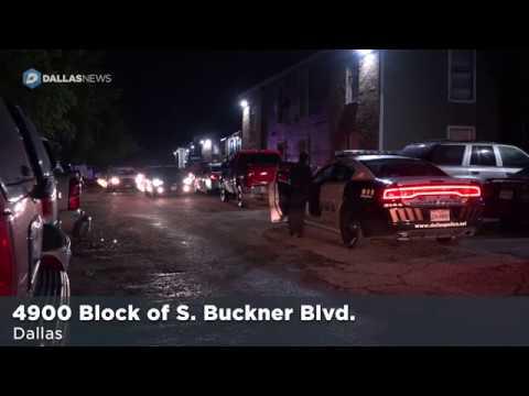 Scene of fatal Buckner Terrace shooting