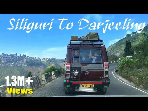 Siliguri To Darjeeling By Road | NJP Siliguri To Darjeeling