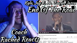Vocal Coach Reaction & Analysis - Kyla, Jay R, Kz, Daryl, Jason - End Of The Road