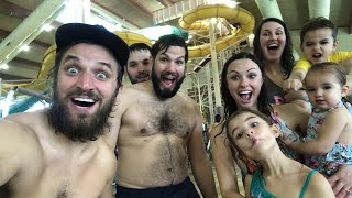 🔴 LIVE Winter Waterpark at Great Wolf Lodge