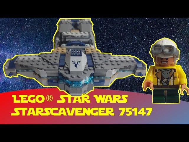 Lego Star Wars StarScavenger 75147 (Freemaker)