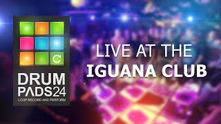 drum pads 24 live at the iguana club bass and brass preset