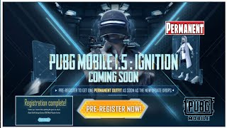 Pubg Mobile 1.5 Ignition Event | Get Permanent Galaxy Messenger Set | Pubgm 1.5 Ignition Coming Soon screenshot 5