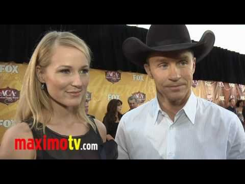 Jewel and Ty Murray Interview at the 2010 American Country Awards