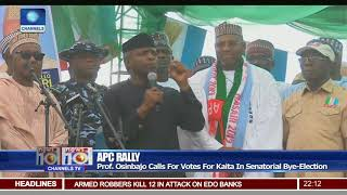 APC Canvasses Support For Senatorial Bye-Election In Katsina
