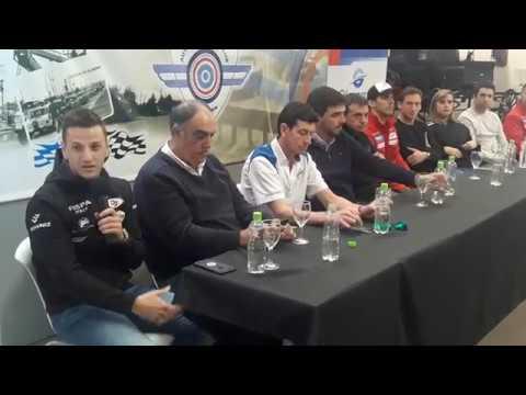 Franco Girolami y Matías Rossi, en modo carrera