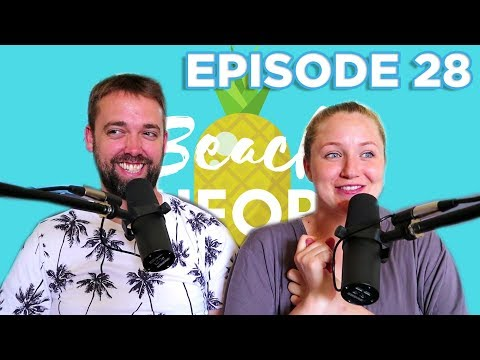 S1 EP28 Becca Is Broken! Trying to Get Pregnant and Miscarriage - Beach Theory Full Episode Podcast!