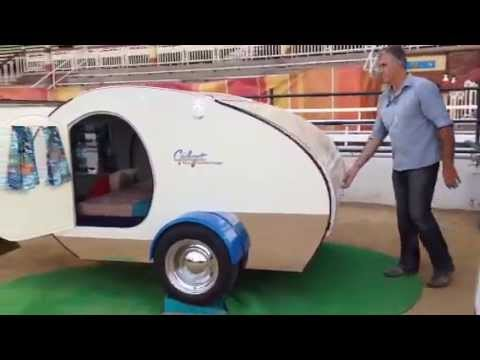 Gidget Retro Teardrop Camper Set Up In Under A Minute Here S The Video