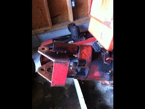 Gravely 5865 Rusty Quick Hitch Fun
