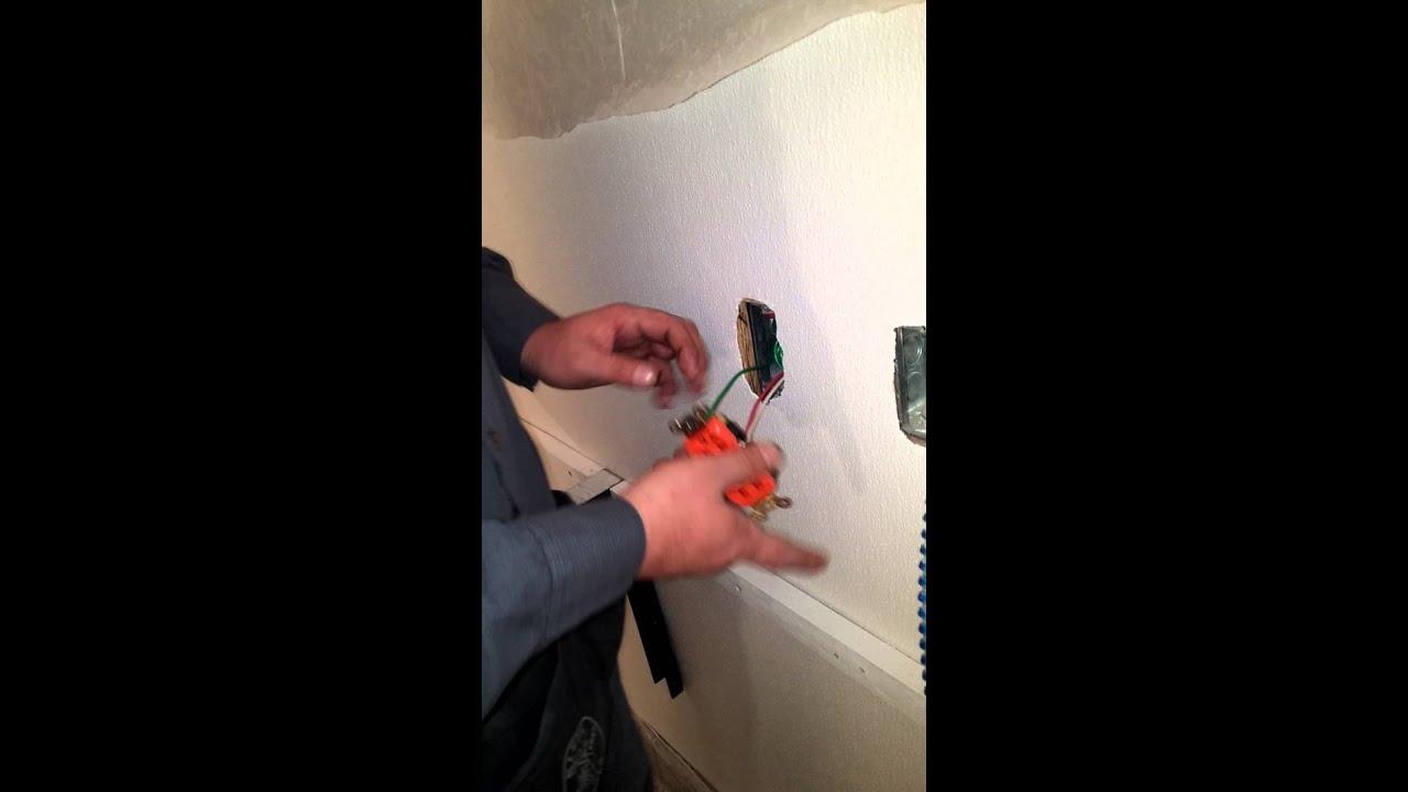 Crazy Vato Installs Isolated ground Receptacle YouTube – Isolated Ground Receptacle Wiring