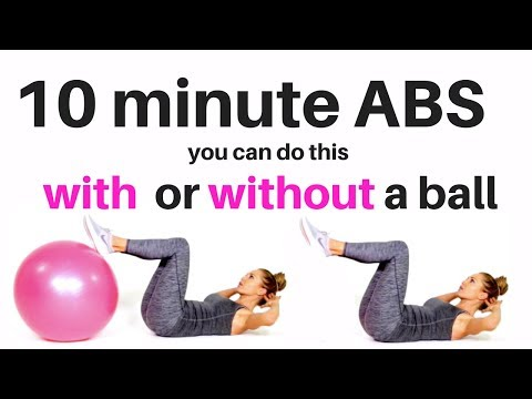 10 Min Ab Workout For Women – Tone Your Abs, Sculpt Your Waist With These Top Ab Workout Moves