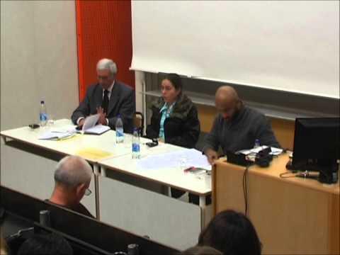 Irma González Seminar on International Law, University of Stockholm, 4th April 2011 (part 1/6)