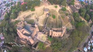 Fasiledes, Gonder Ethiopia from the sky  by Mesfin video
