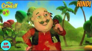 Naagon Se Panga - Motu Patlu in Hindi - 3D Animated cartoon series for kids