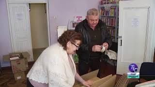 Книги из частной коллекции поступили в библиотеку с. Сычавка