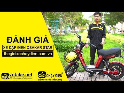 Đánh giá xe đạp điện Osakar Star
