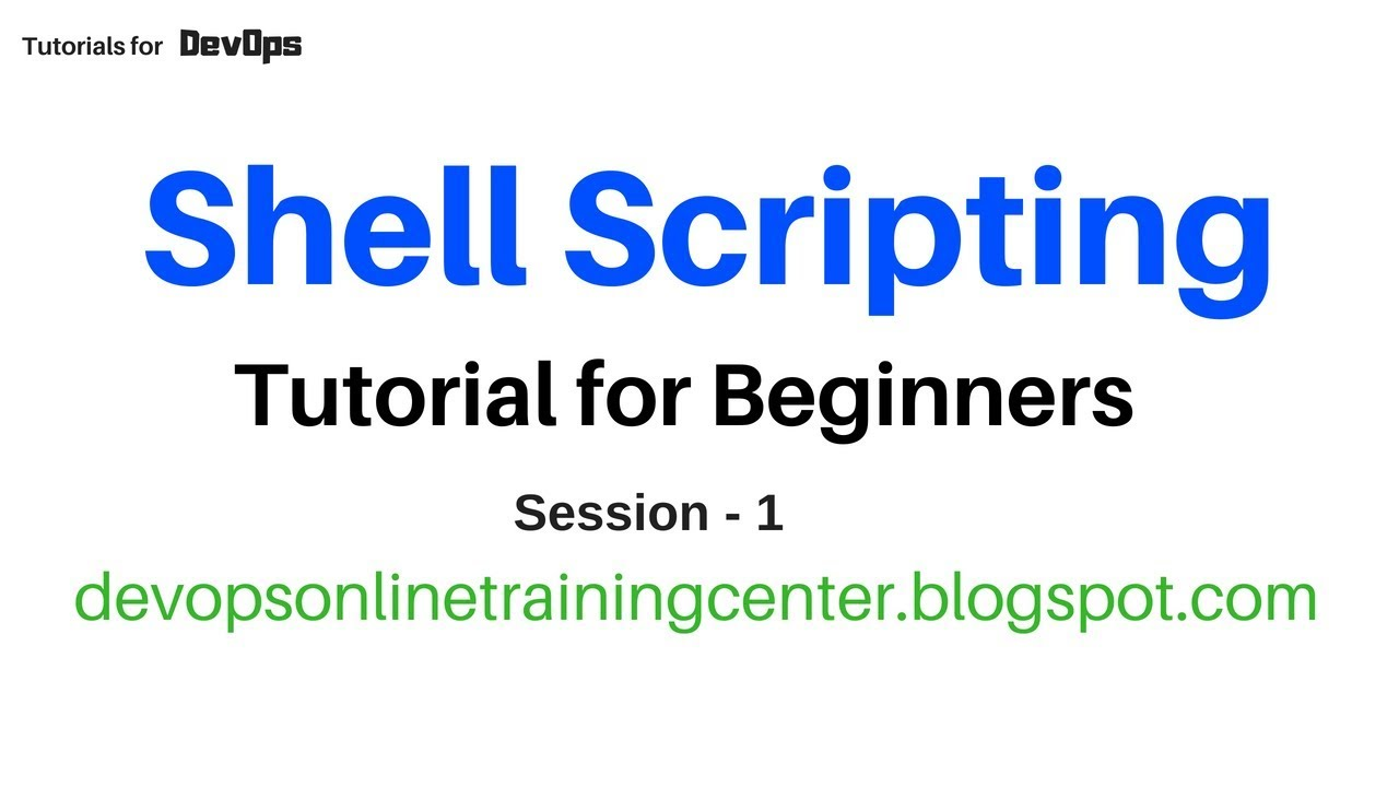 Download Shell Scripting Tutorials for Beginners | Unix Commands | for Devops