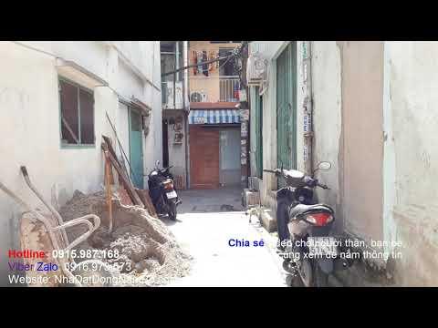 Video nhà bán quận Tân Phú, hẻm đường Kênh Tân Hóa, cách MT chỉ 15m. Nhà cũ tiện đầu tư kinh doanh xây mới