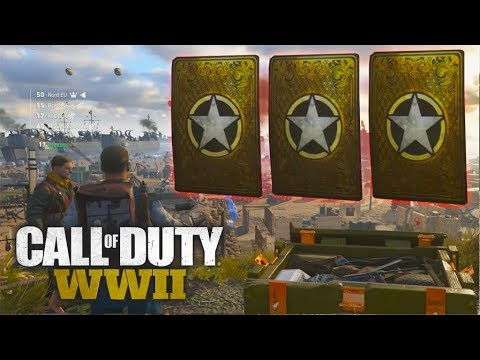 ZOVEEL HEROICS - Call of Duty WWII Supply drop opening
