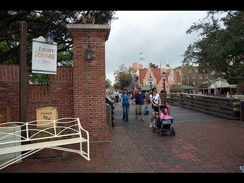 Liberty Square at Magic Kingdom!  Walt Disney World 2011 HD