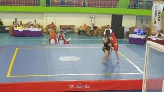 Wushu sanda junior DKI JAKARTA vs PADANG (56 KG)