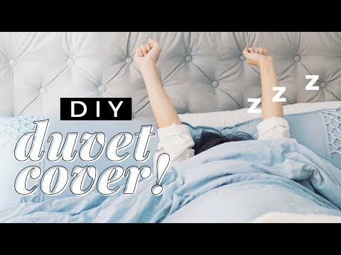 DIY Duvet Cover and Pillowcase! | WITHWENDY