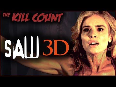 Saw 3D 2010 KILL COUNT