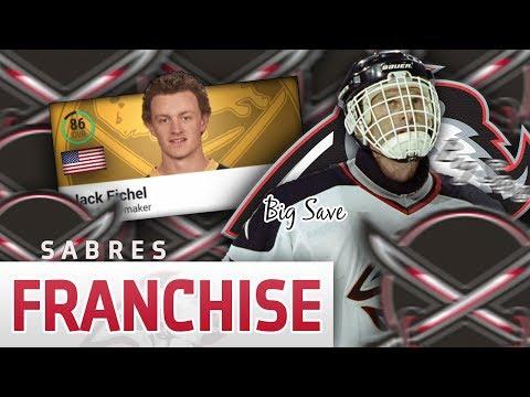 """NHL 17: Buffalo Sabres Legend Franchise Mode #11 """"ECF vs DET"""""""