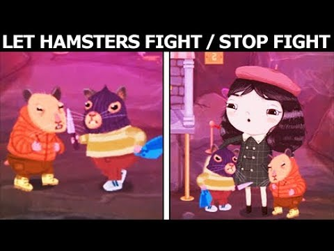 Little Misfortune - Let The Hamsters Fight Or Stop The Fight Between The Hamsters