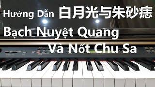 Hướng Dẫn 白月光与朱砂痣 - BẠCH NGUYỆT QUANG VÀ NỐT CHU SA | Piano Easy | Đinh Công Tú