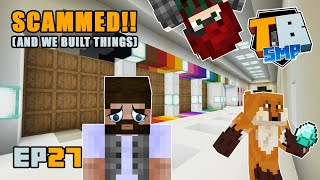 SCAMMED!! Plus flower farms, dye stations and more! | Truly Bedrock Season 2 [27] Minecraft Bedrock