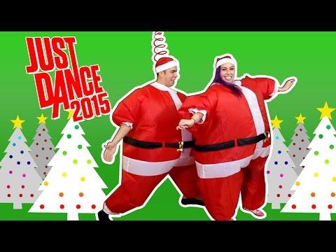 """BOLLYWOOD SANTA"" Just Dance 2015 Chub Suits - Husband Vs Wife"