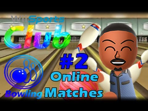 Wii Sports Club Wii U (1080p) Bowling Online Matches #2