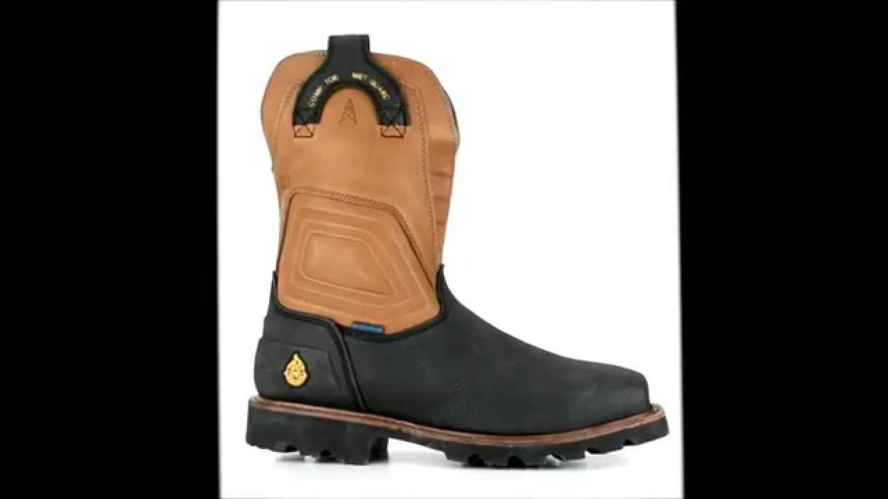 cf7e77639a6 Men's Justin Original WK4511 Composite Toe WP Wellington Metguard Boot @  Steel-Toe-Shoes.com