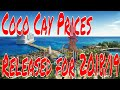 Coco Cay Admission Fees Released by Royal Caribbean for 2018/19 Cabanas Water Slides Zip Lines!