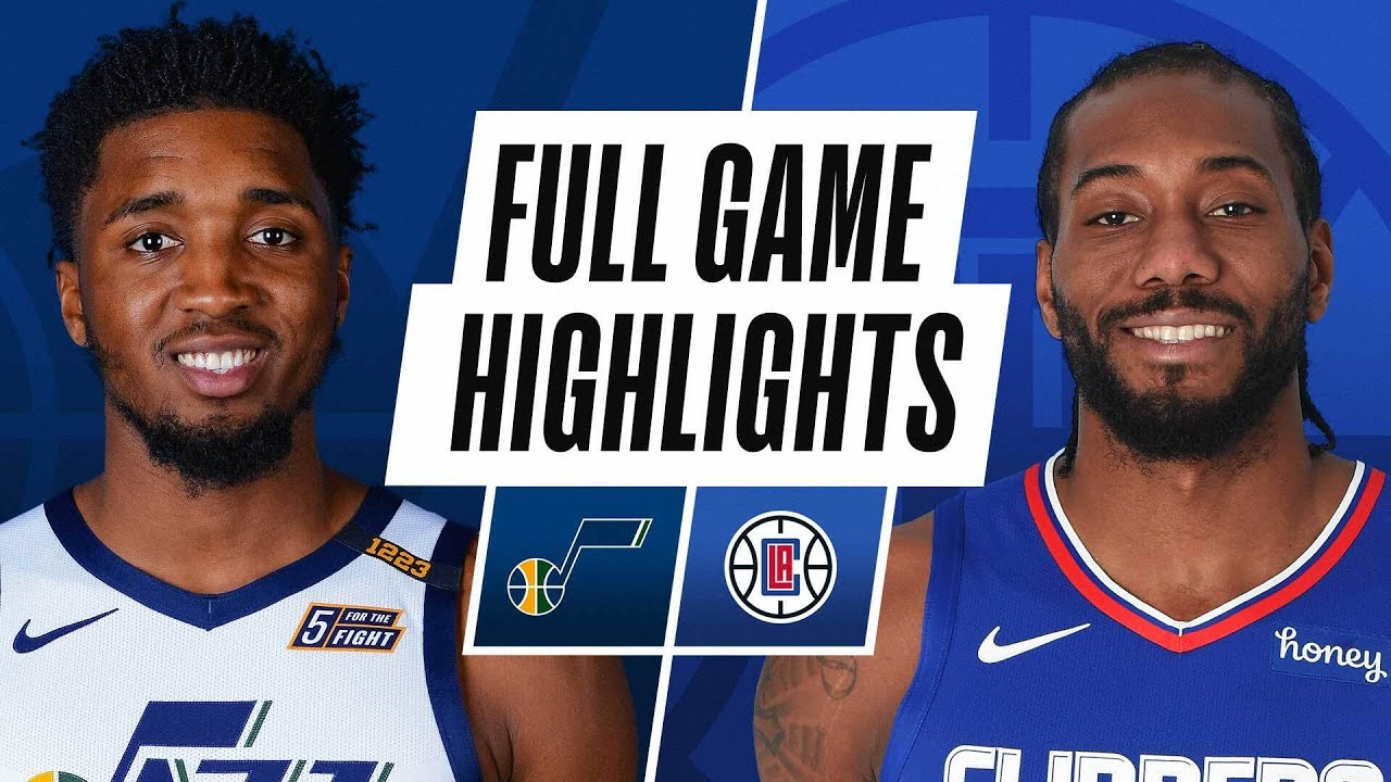 JAZZ at CLIPPERS | FULL GAME HIGHLIGHTS | February 19, 2021