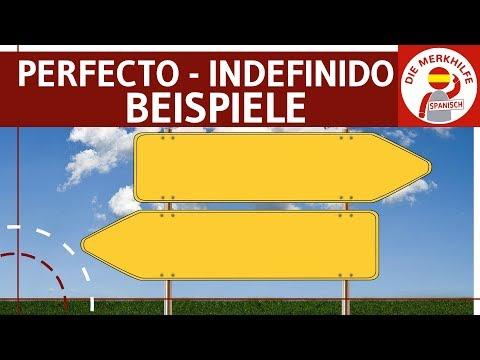Pretérito Perfecto vs. Indefinido - Unterschied - Beispiele & Übungen - Spanisch Zeiten / Grammatik