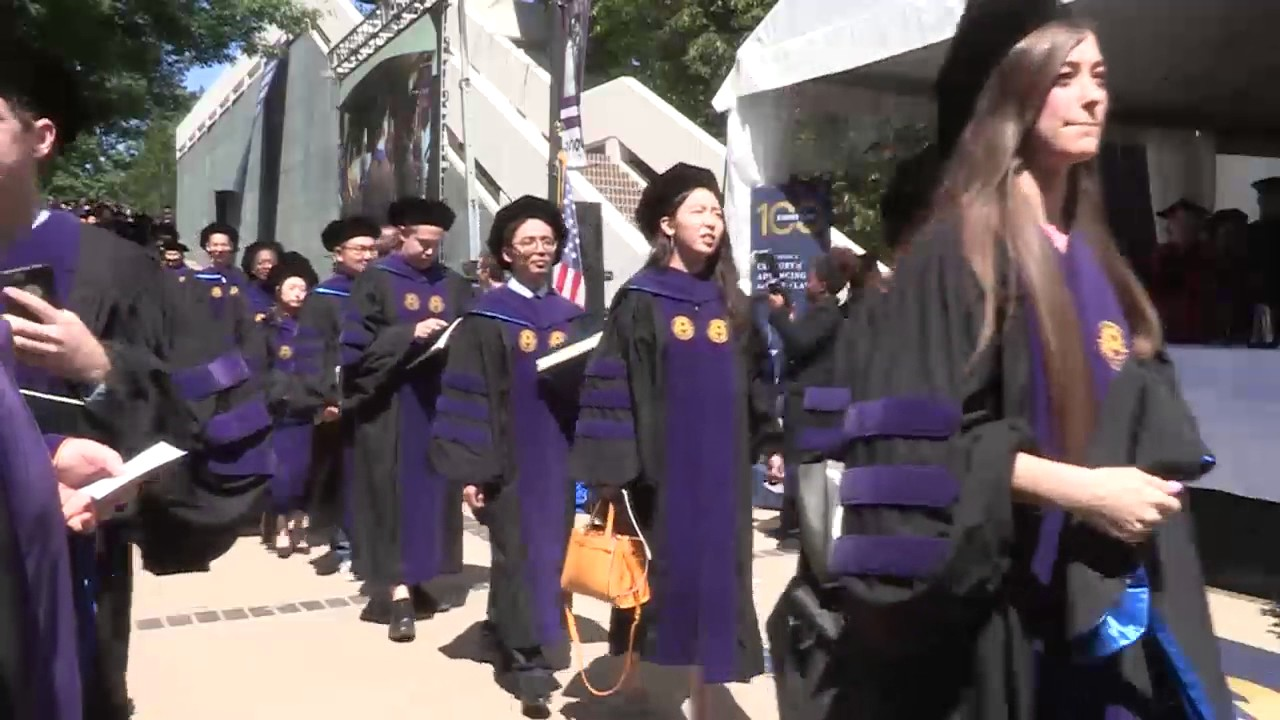 085c151804e Emory Law School Commencement 2017 - YouTube