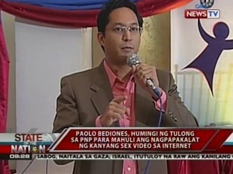 Paolo Bediones, humingi ng tulong sa PNP para mahuli ang nagpapakalat ng kanyang sex video