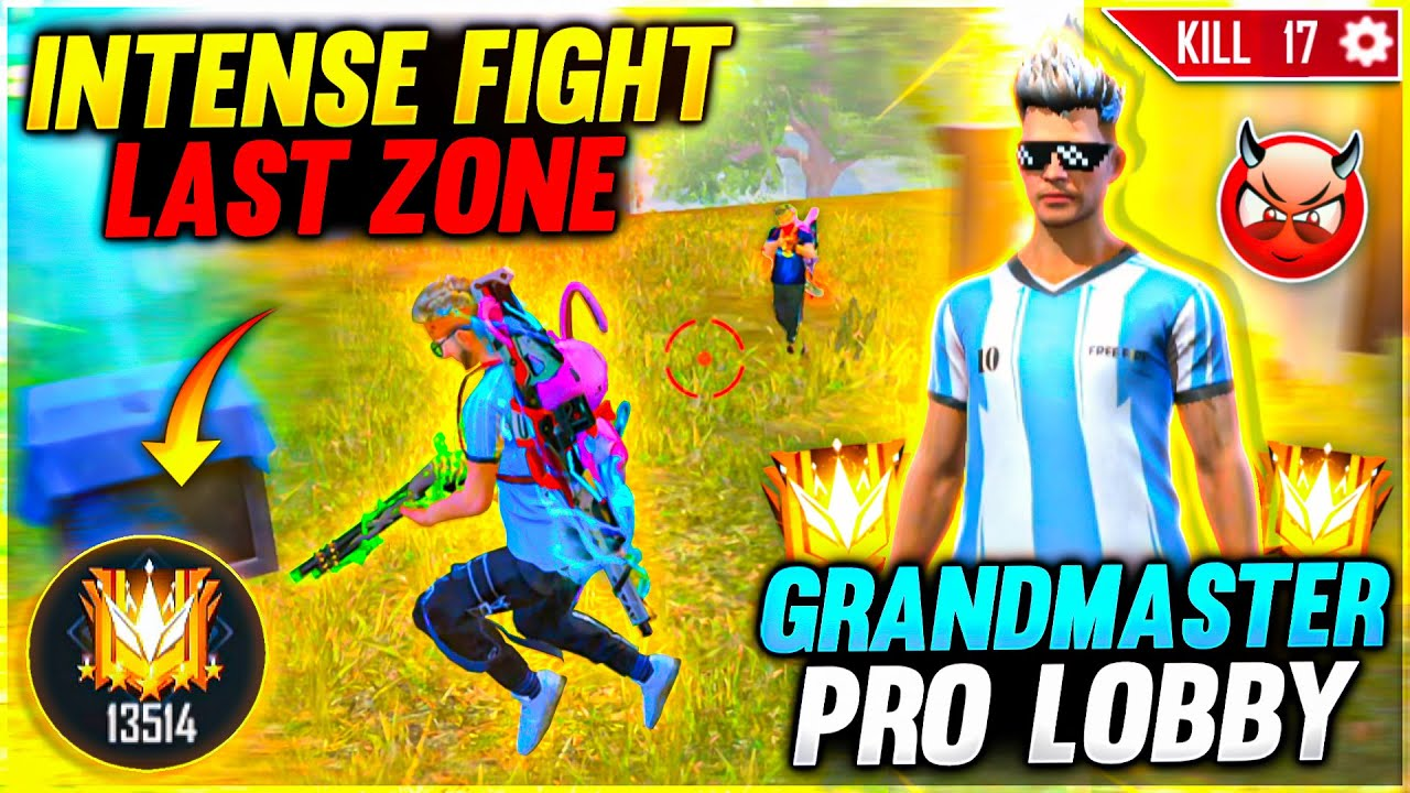 Impossible Last Zone Situation On Grandmaster🤯 13000+ Score Lobby - Garena Free Fire